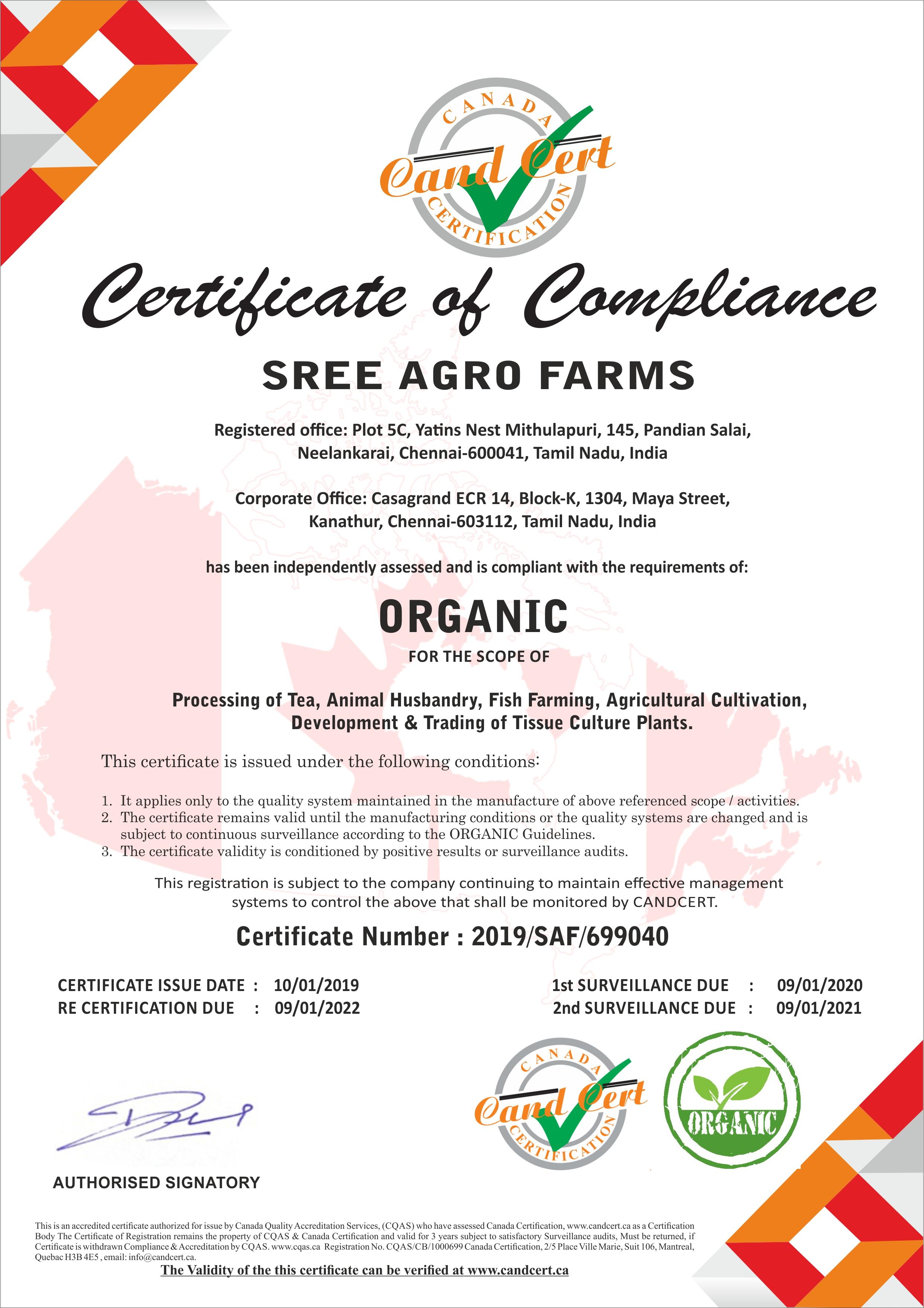 SREE AGRO FARMS